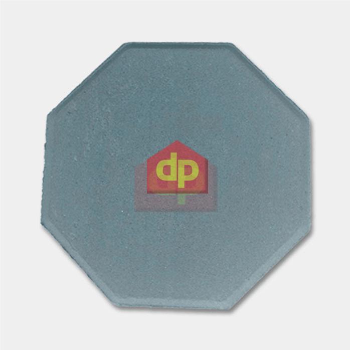 Gạch block tự chèn bát giác màu xanh